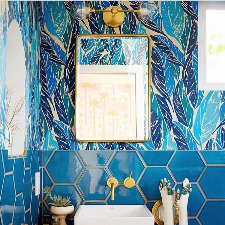 Can You Wallpaper Bathrooms?