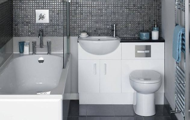 small ensuite bathroom